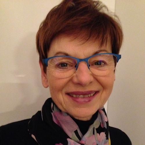 Brigitte Sollberger - founding member of Toastmasters Villach.